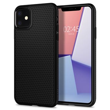Spigen Liquid Air, black - iPhone 11