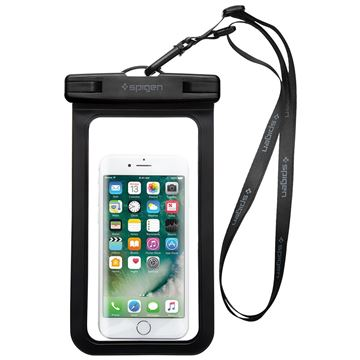 "Spigen Velo A600 8"" Waterproof Phone Case, black"