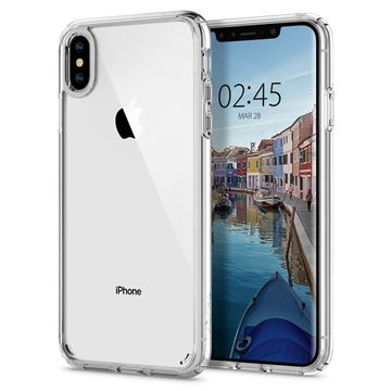 Spigen Ultra Hybrid, crystal clear - iPhone XS Max