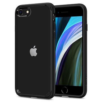 Spigen Ultra Hybrid 2, black - iPhone SE/8/7