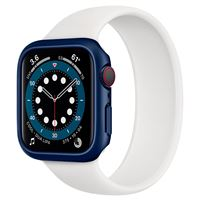 Spigen Thin Fit, blue - Apple Watch 6/SE/5/4 44mm