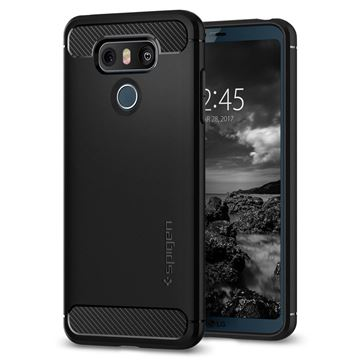 Spigen Rugged Armor, black - LG G6