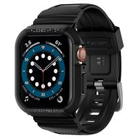 Spigen Rugged Armor Pro, black - A. Watch 5/4 44mm
