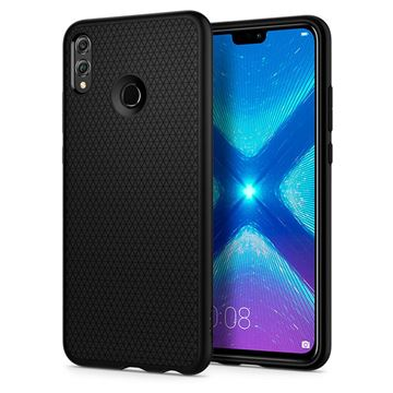 Spigen Liquid Air, matte black - Honor 8X
