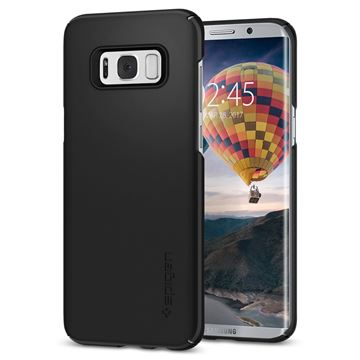 Spigen Thin Fit, black - Galaxy S8+