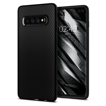 Spigen Liquid Air, matte black - Galaxy S10+