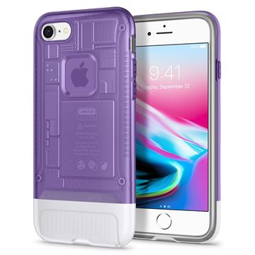 Spigen Classic C1, grape - iPhone 8/7
