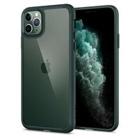 Spigen Ultra Hybrid, midn. green - iPhone 11 Pro