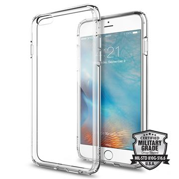 Spigen Ultra Hybrid, crystal clear - iPhone 6+/6s+