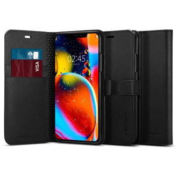Spigen Wallet S, black - iPhone 11 Pro Max