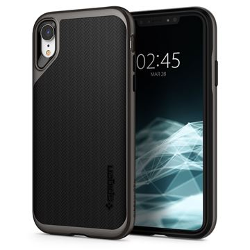 Spigen Neo Hybrid, gunmetal - iPhone XR