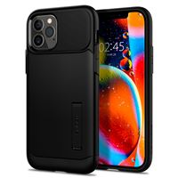 Spigen Slim Armor, black - iPhone 12/Pro