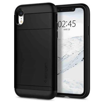 Spigen Slim Armor CS, black - iPhone XR