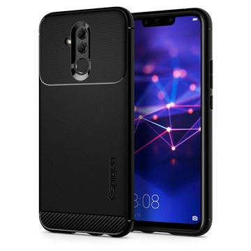 Spigen Rugged Armor, black - Huawei Mate 20 Lite