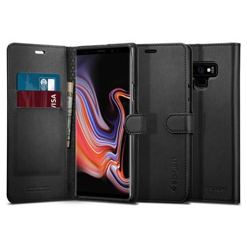 Spigen Wallet S, black - Galaxy Note 9
