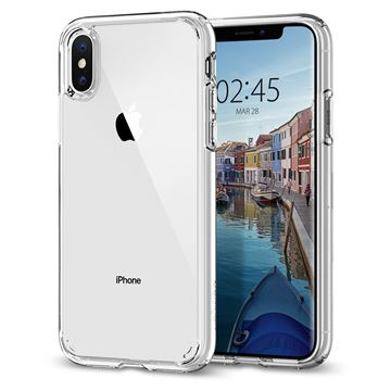 Spigen Ultra Hybrid, crystal clear - iPhone XS/X