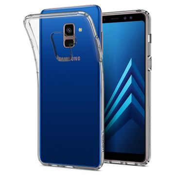 Spigen Liquid Crystal, clear - Galaxy A8(2018)