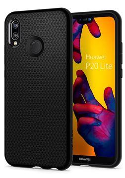 Spigen Liquid Air, black - Huawei P20 Lite