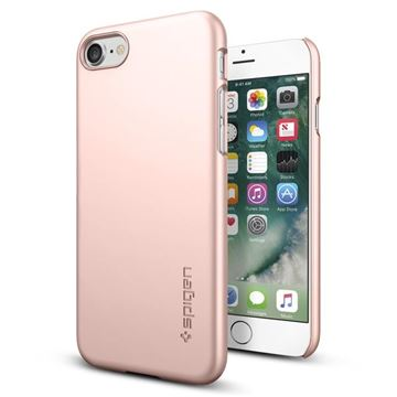 Spigen Thin Fit, rose gold - iPhone 8