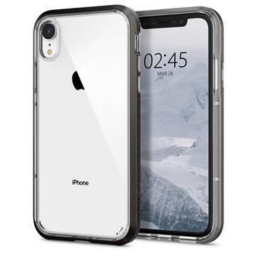 Spigen Neo Hybrid Crystal, gunmetal - iPhone XR