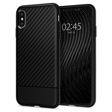 Spigen Core Armor, black - iPhone XS/X