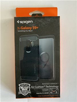 Spigen Rugged Armor, black - Galaxy S9+