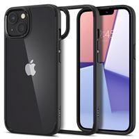Spigen Crystal Hybrid, matte black - iPhone 13