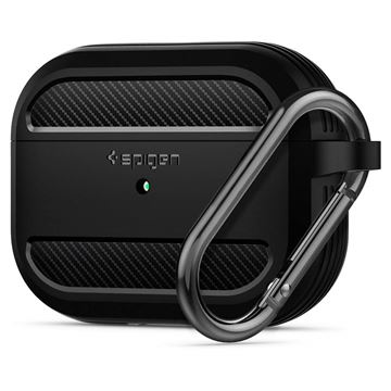 Spigen Rugged Armor, black - AirPods Pro
