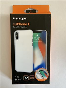 Spigen Air Skin, clear - iPhone X