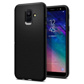 Spigen Liquid Air, black - Galaxy A6