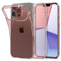 Spigen Crystal Flex, rose cr. - iPhone 13 Pro Max