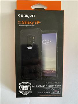 Spigen Hybrid Armor, black - Galaxy S9+