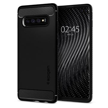 Spigen Rugged Armor, black - Galaxy S10+