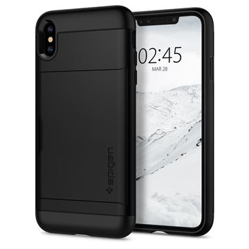 Spigen Slim Armor CS, black - iPhone XS Max