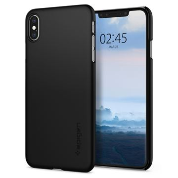 Spigen Thin Fit, black - iPhone XS Max