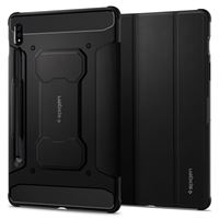 Spigen Rugged Armor Pro, black - Galaxy Tab S7