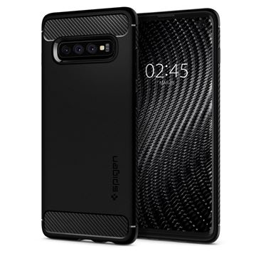 Spigen Rugged Armor, black - Galaxy S10