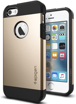 Spigen Tough Armor,champagne gold - iPhone SE/5s/5