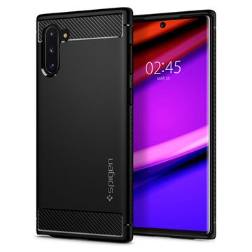 Spigen Rugged Armor, black - Galaxy Note10