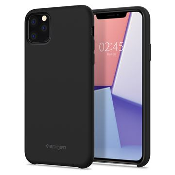 Spigen Silicone Fit, black - iPhone 11 Pro