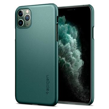 Spigen Thin Fit, green - iPhone 11 Pro
