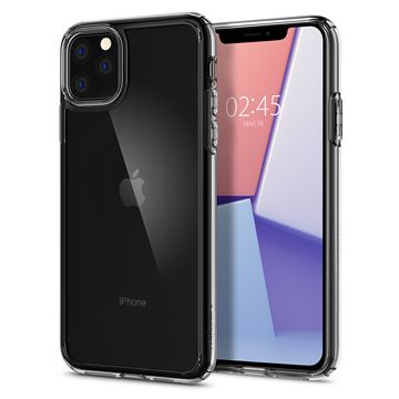 Spigen Crystal Hybrid, clear - iPhone 11 Pro Max