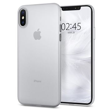 Spigen Air Skin, clear - iPhone XS/X