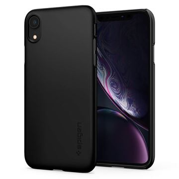 Spigen Thin Fit, black - iPhone XR