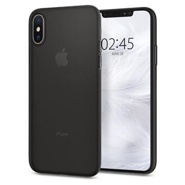 Spigen Air Skin, black - iPhone XS/X