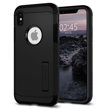 Spigen Tough Armor, black - iPhone X