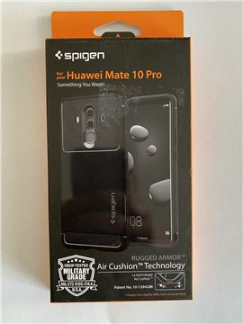 Spigen Rugged Armor, black - Huawei Mate 10 Pro