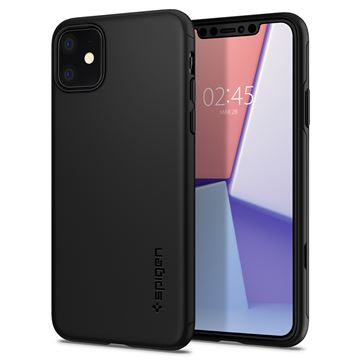Spigen Thin Fit Classic, black - iPhone 11