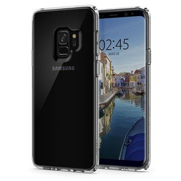 Spigen Ultra Hybrid, crystal clear - Galaxy S9