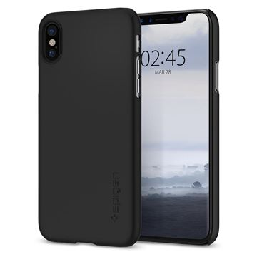 Spigen Thin Fit, black - iPhone X